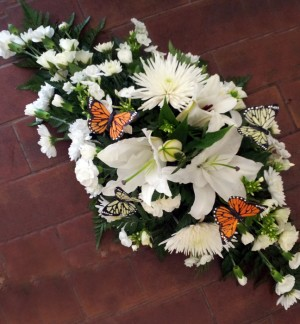 2ft Butterfly White Double Ended